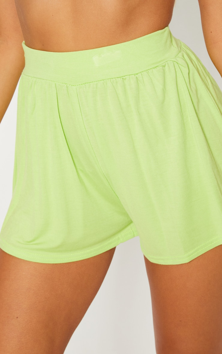 Lime Jersey Floaty Short 6