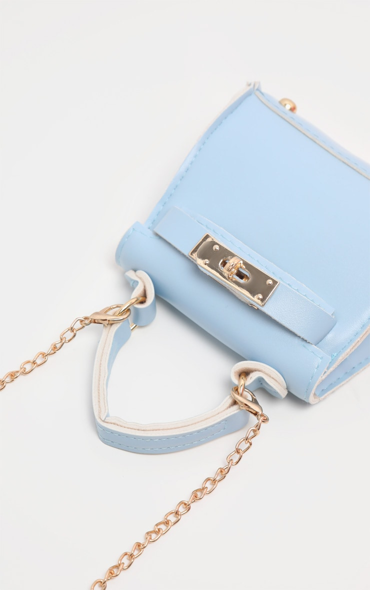 Powder Blue Micro Mini Bag 4