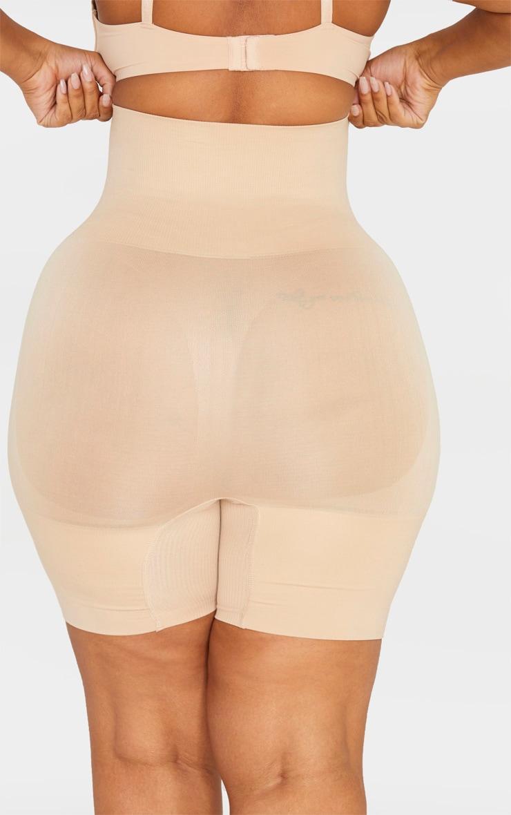 Plus Nude Seamless High Waist Control Shapewear Shorts 3