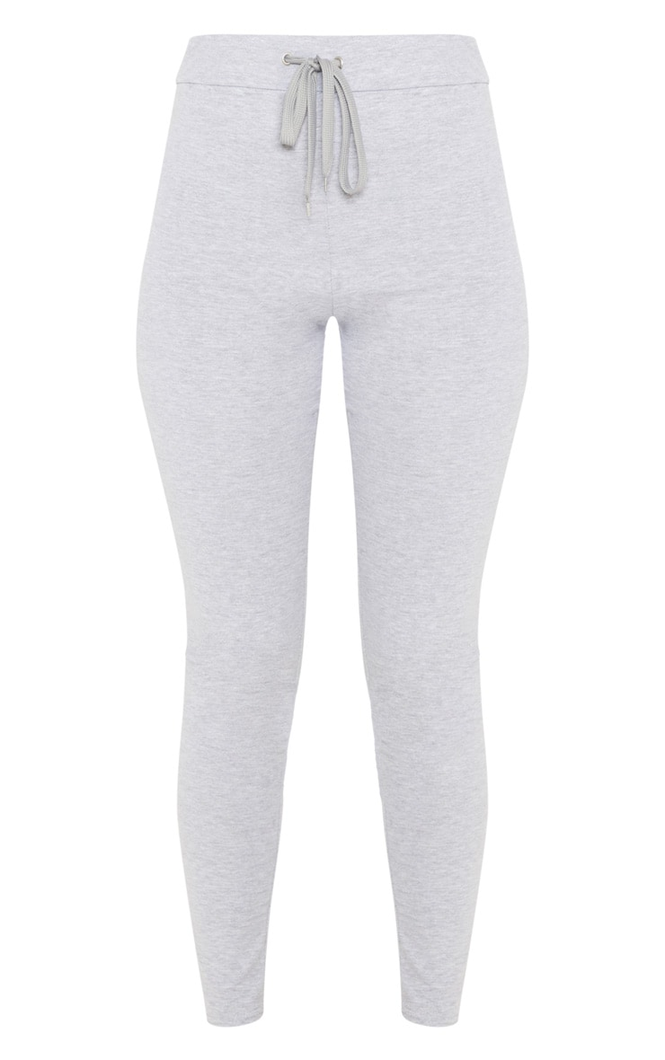 Charcaol Grey Drawstring Cotton Legging 3