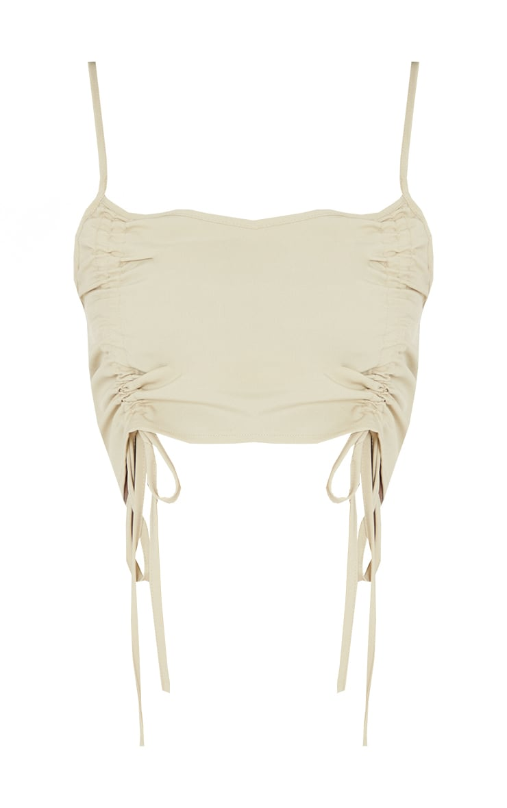 Tall Stone Strappy Ruched Bralet 5