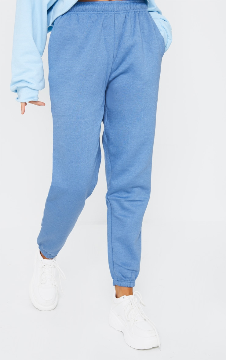 Dusty Blue Sweat Pant Joggers 2