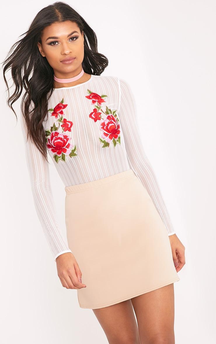 Jessica Stone A-Line Mini Skirt 1