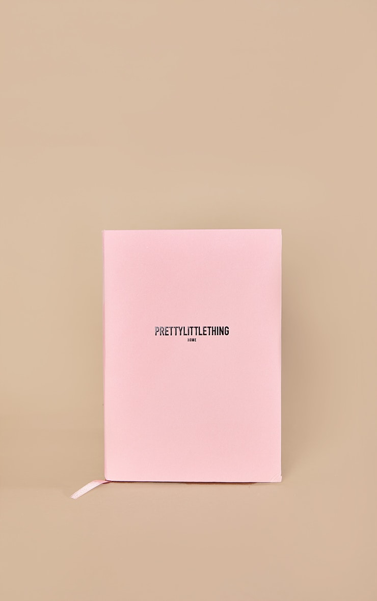 PRETTYLITTLETHING Pink Notepad 3