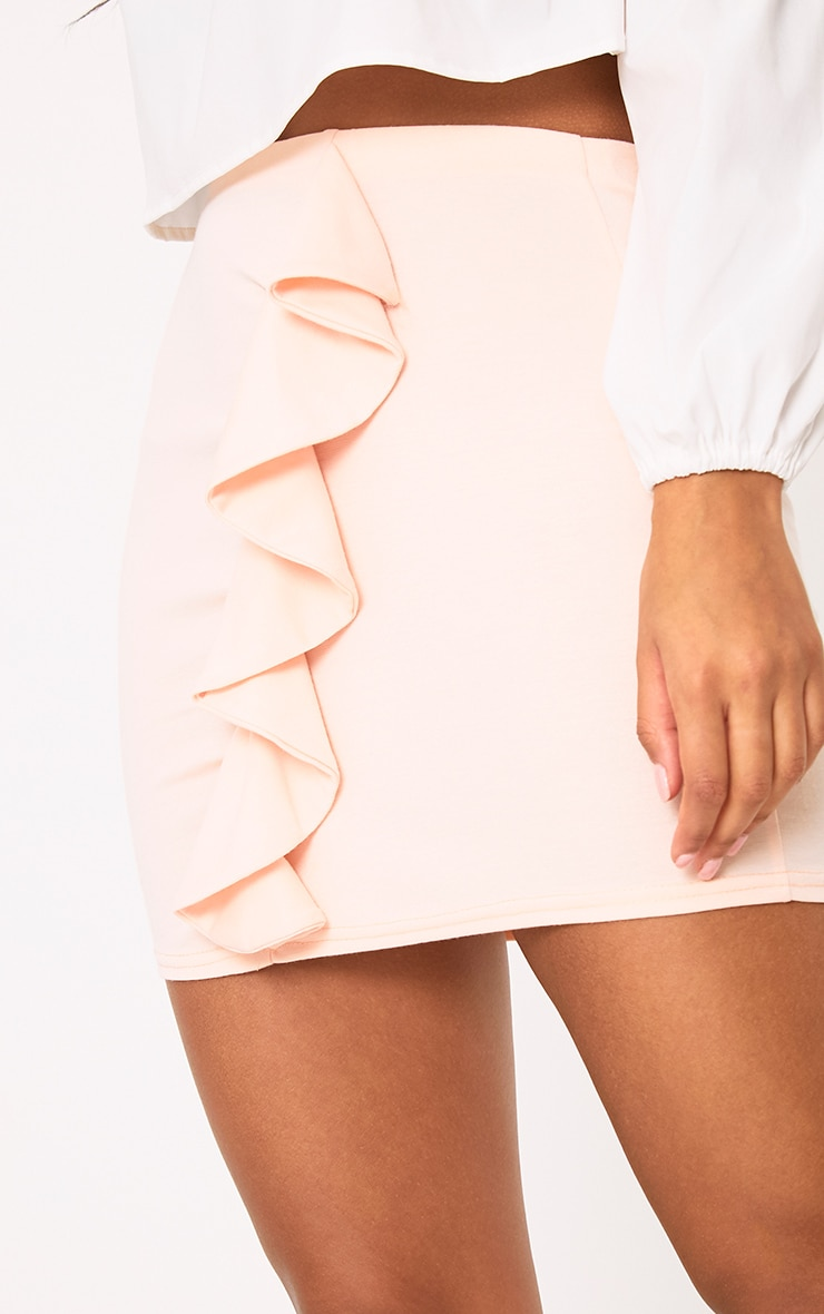 Blush Ruffle Mini Skirt 6