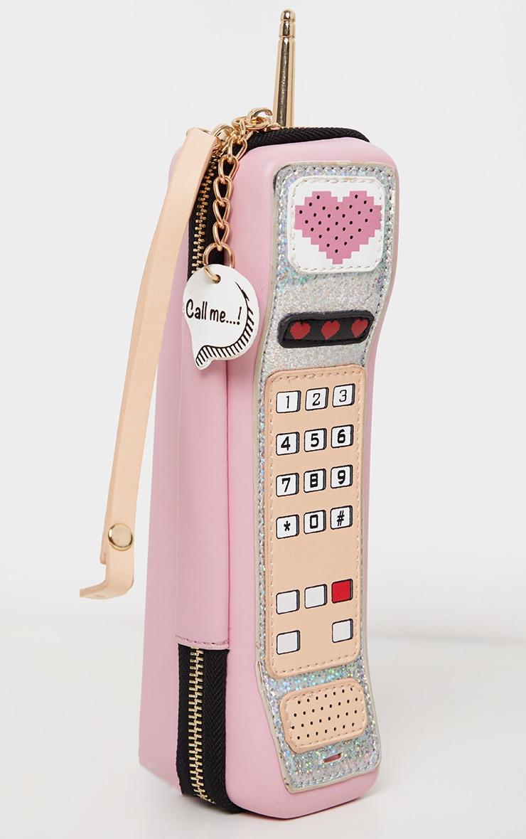 Sac rose en forme de téléphone 2