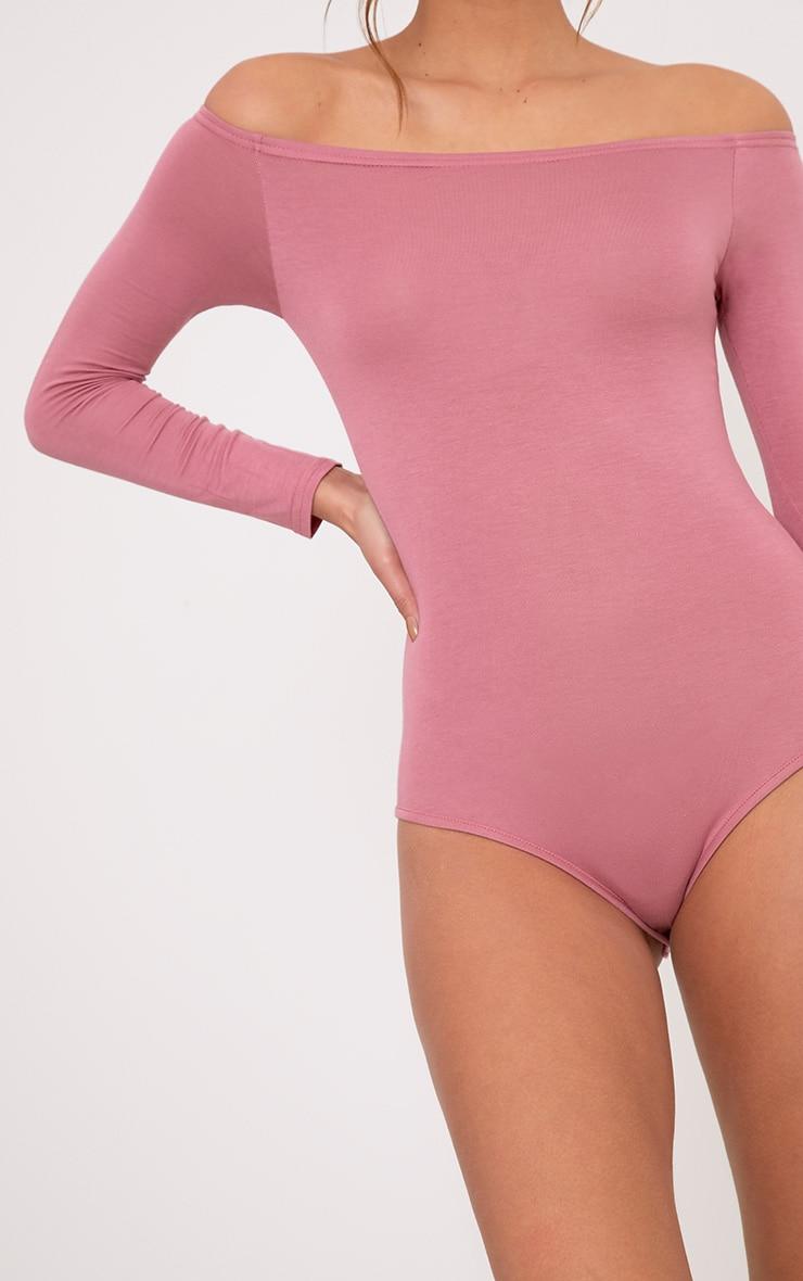 Basic body bardot rose 7