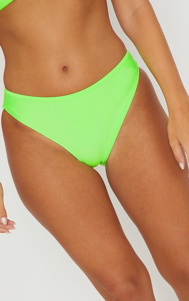 Lime Mix & Match Cheeky Bum Bikini Bottom 6