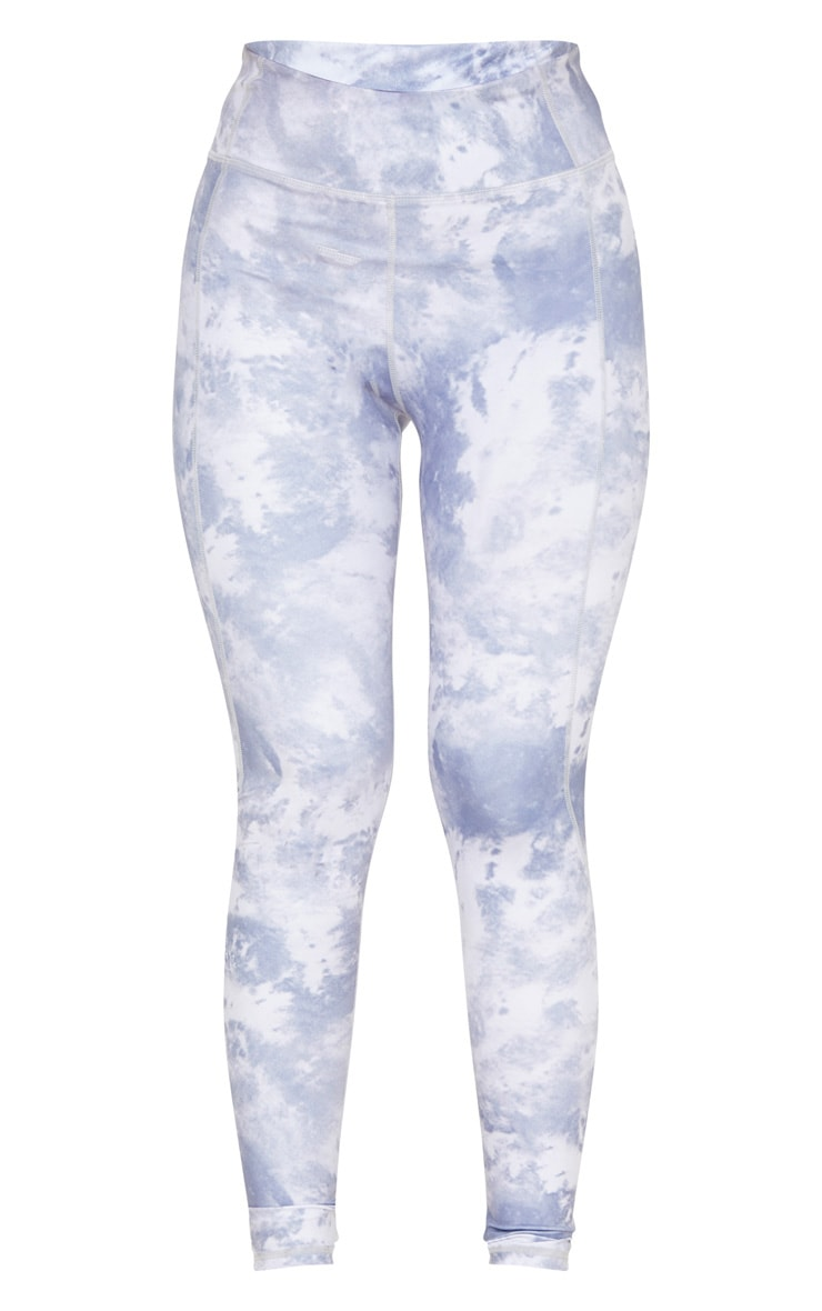 Blue Acid High Rise Gym Legging 3