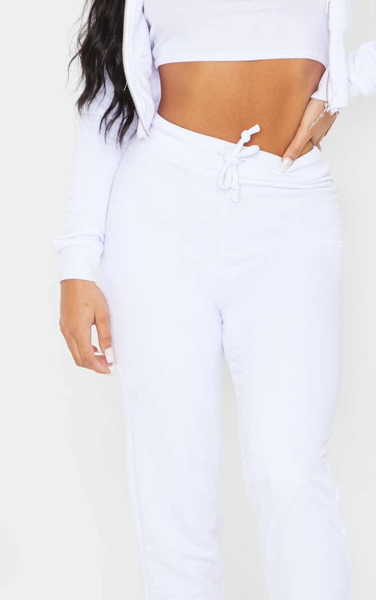 White Ultimate Sweat Joggers 4
