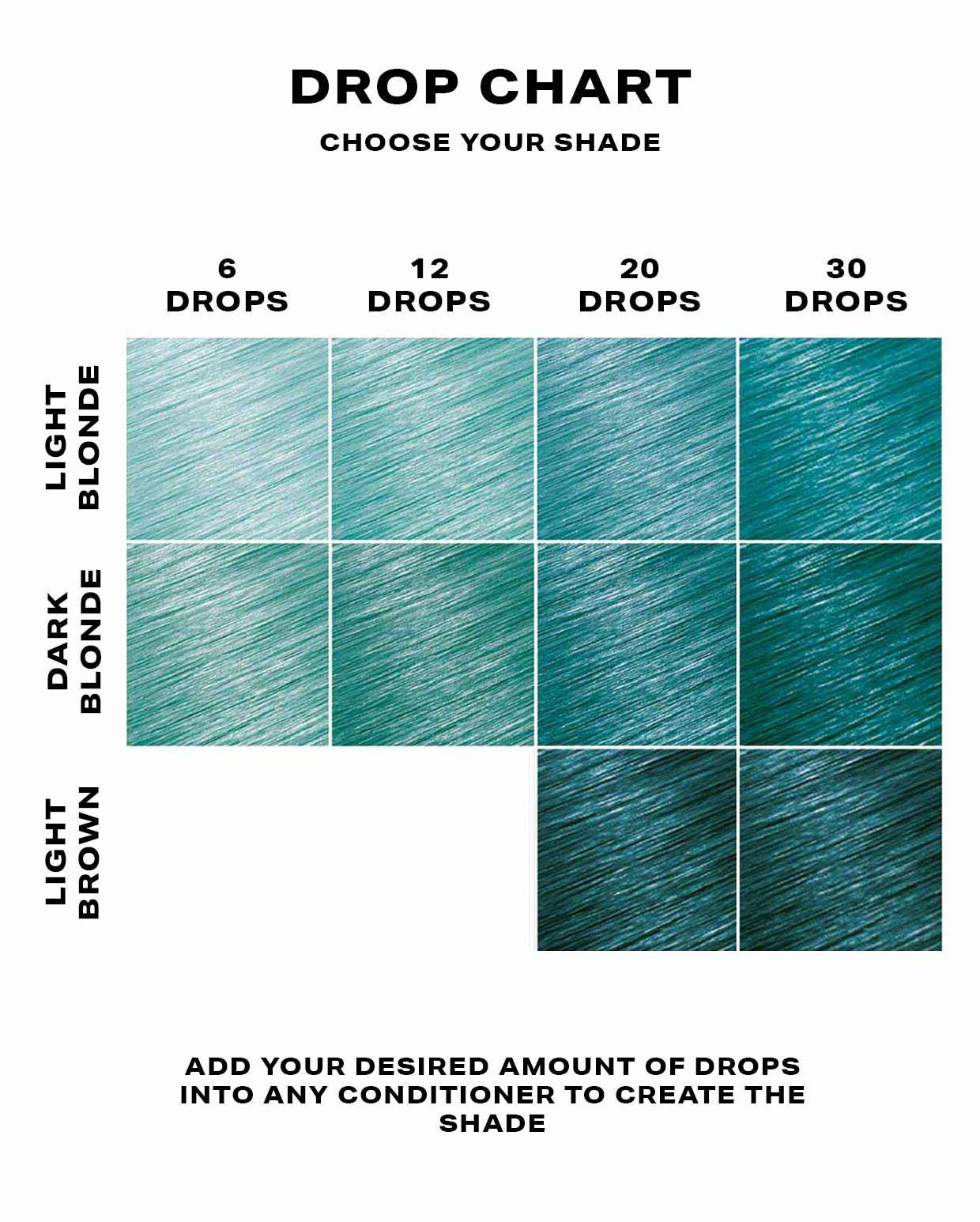 SHRINE Drop It Hair Dye Aqua 2