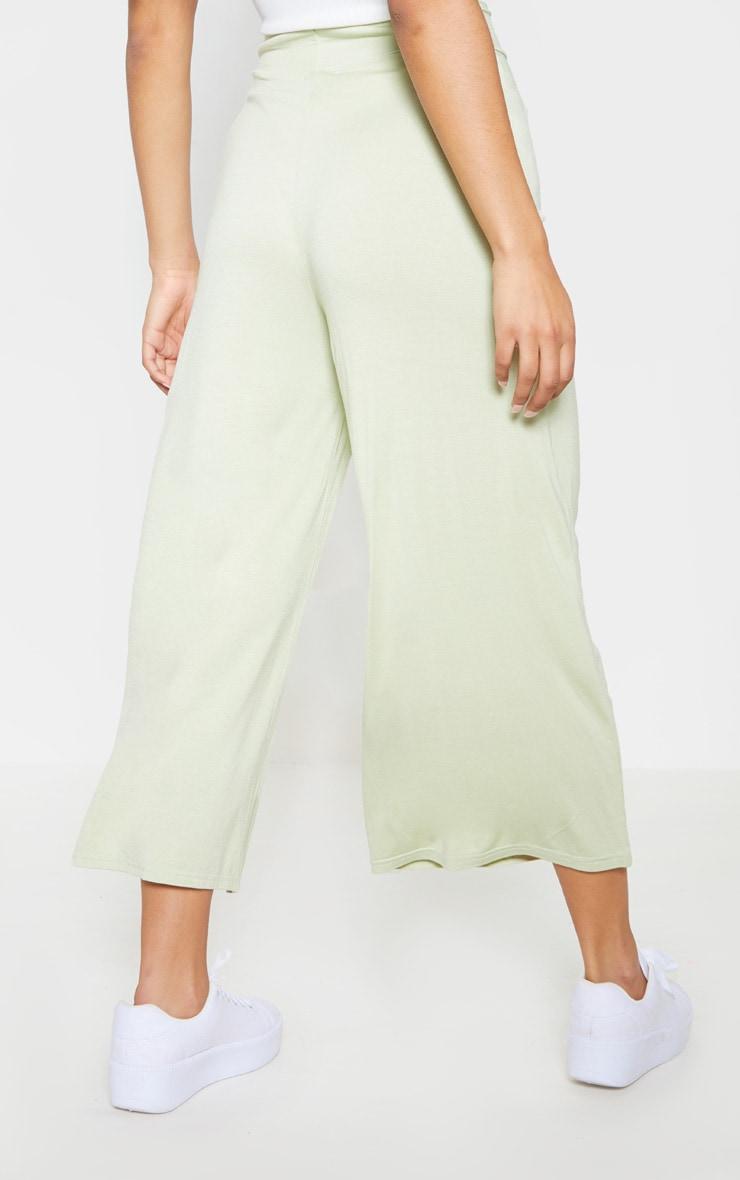 Sage Green Basic Culotte 4