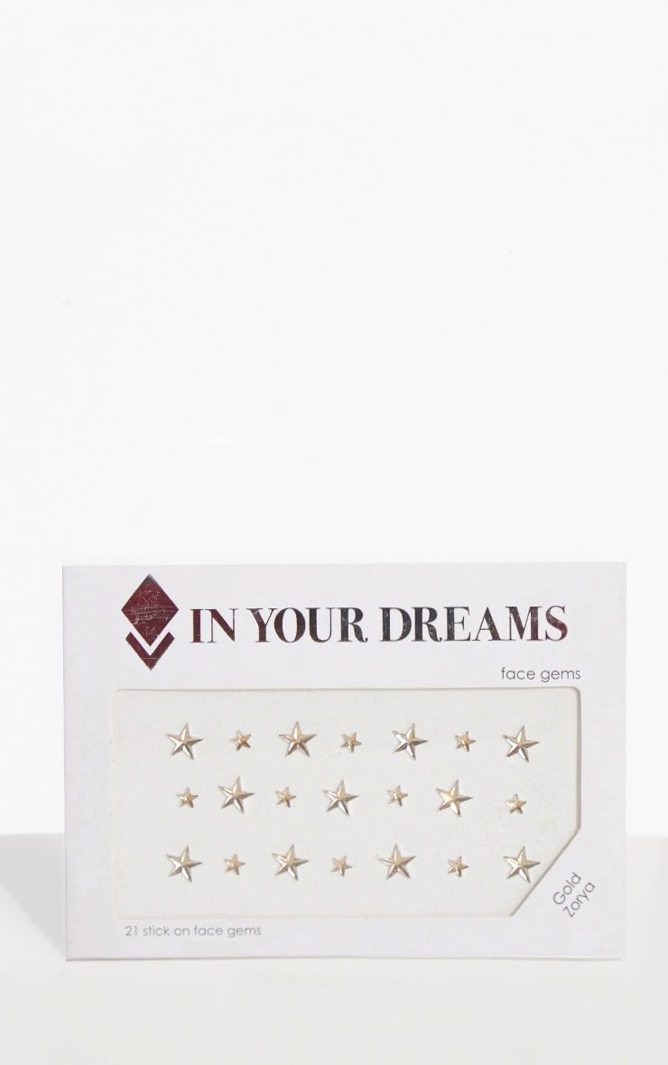 In Your Dreams Gold Zorya Star Face Jewels 1
