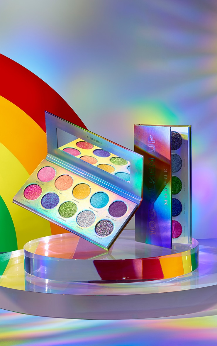 Morphe Pride 10G Artistry Eyeshadow Palette 1