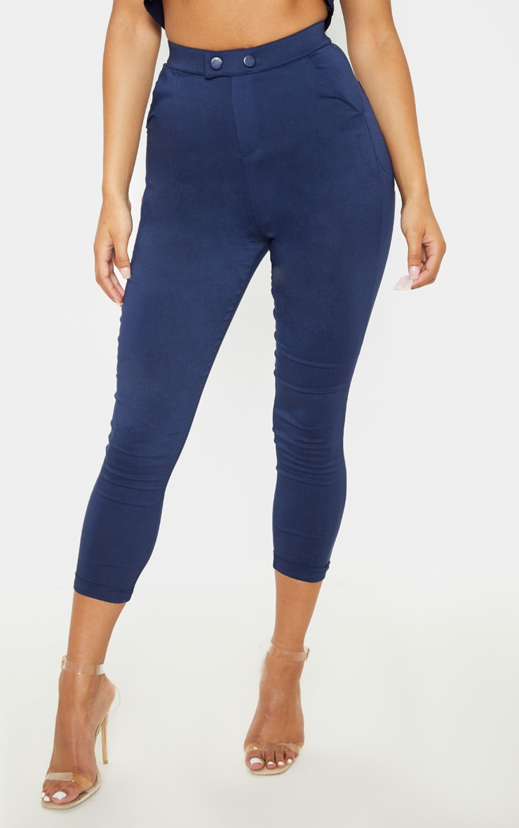 Navy Simi High Waisted Jeggings 2