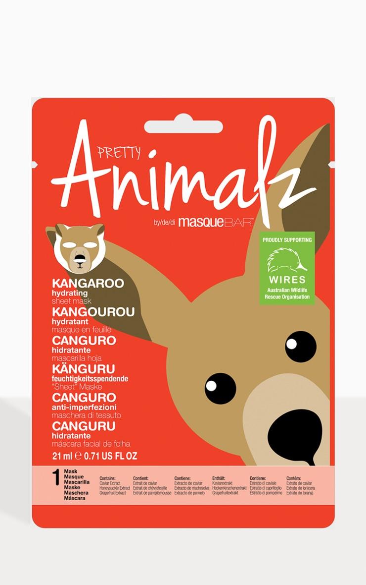 MasqueBAR Animalz Kangaroo Sheet Mask 2