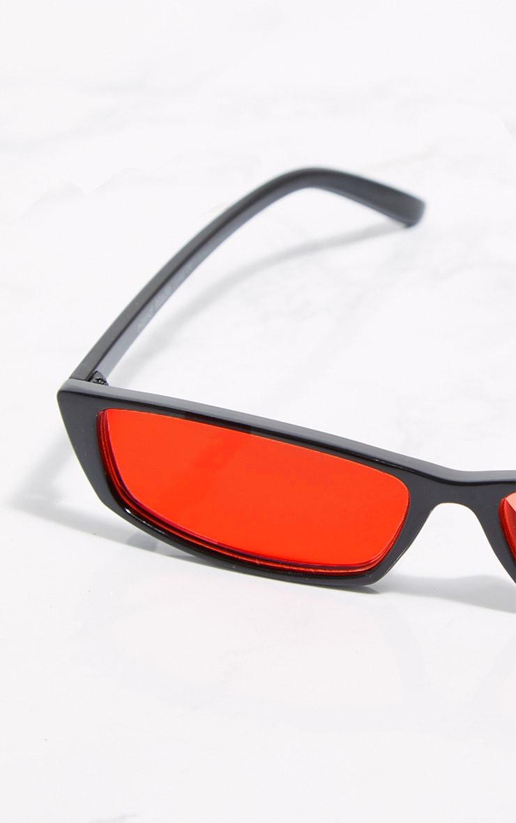 Red Lens Racer Sunglasses 4