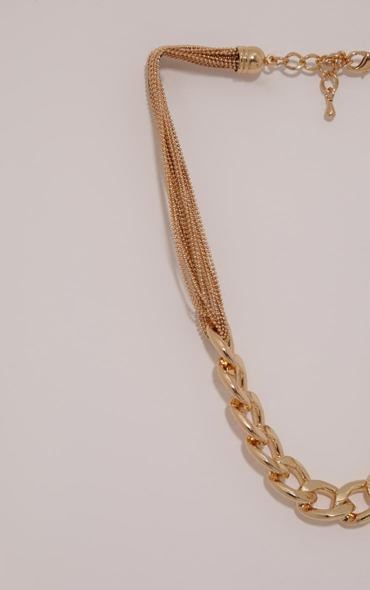 Lexi Gold Chain Link Necklace 3
