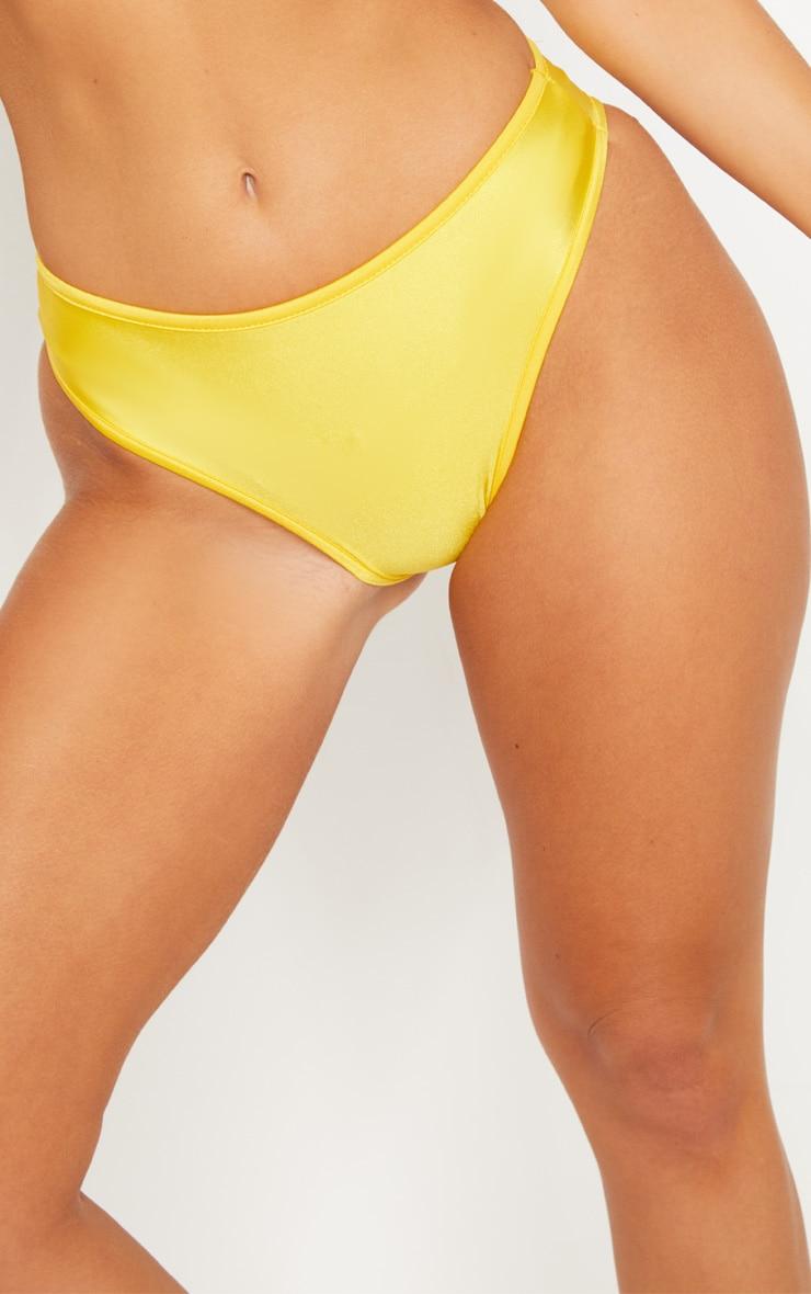 Yellow Mix & Match Cheeky Bum Bikini Bottom 6