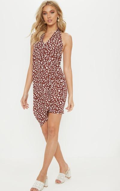 ae8a43ddbcd1c Halter Neck Dresses | Halter Dresses | PrettyLittleThing