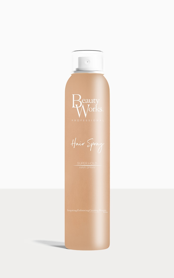 Beauty Works Strong Hold Hair Spray 300ml 2