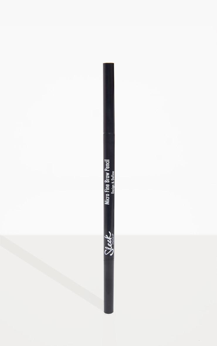 Sleek MakeUP Micro Fine Brow Pencil Dark Brown 3