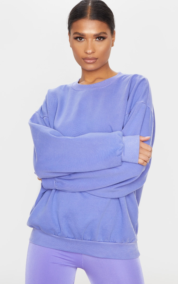 Lilac Ultimate Oversized Sweatshirt 3