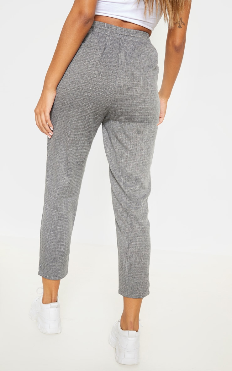 Diya Grey Casual Trousers 4