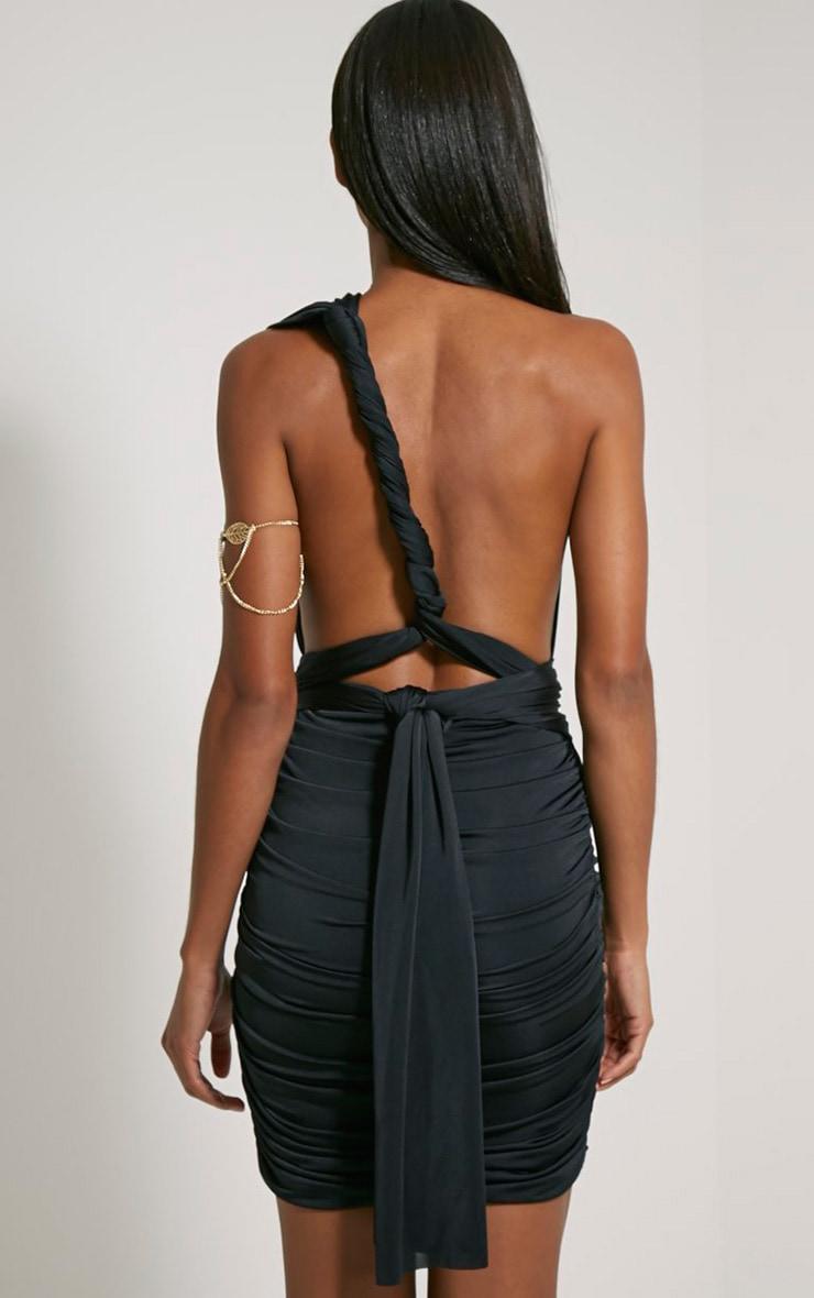 Katherine Black Multiway Mini Dress 7