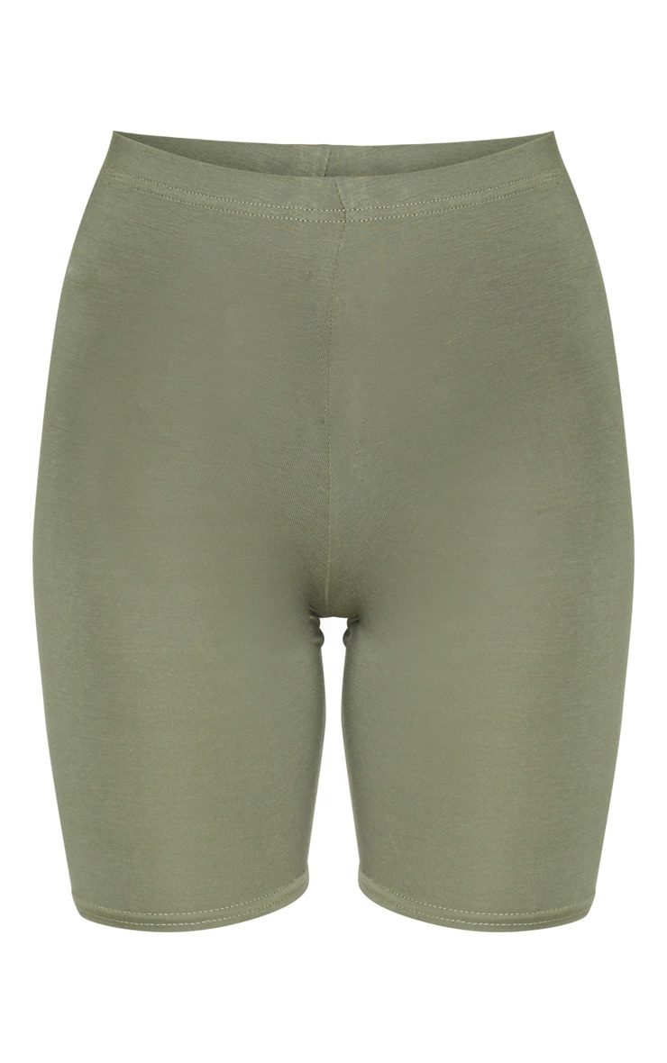 Pale Khaki Basic Bike Short 5