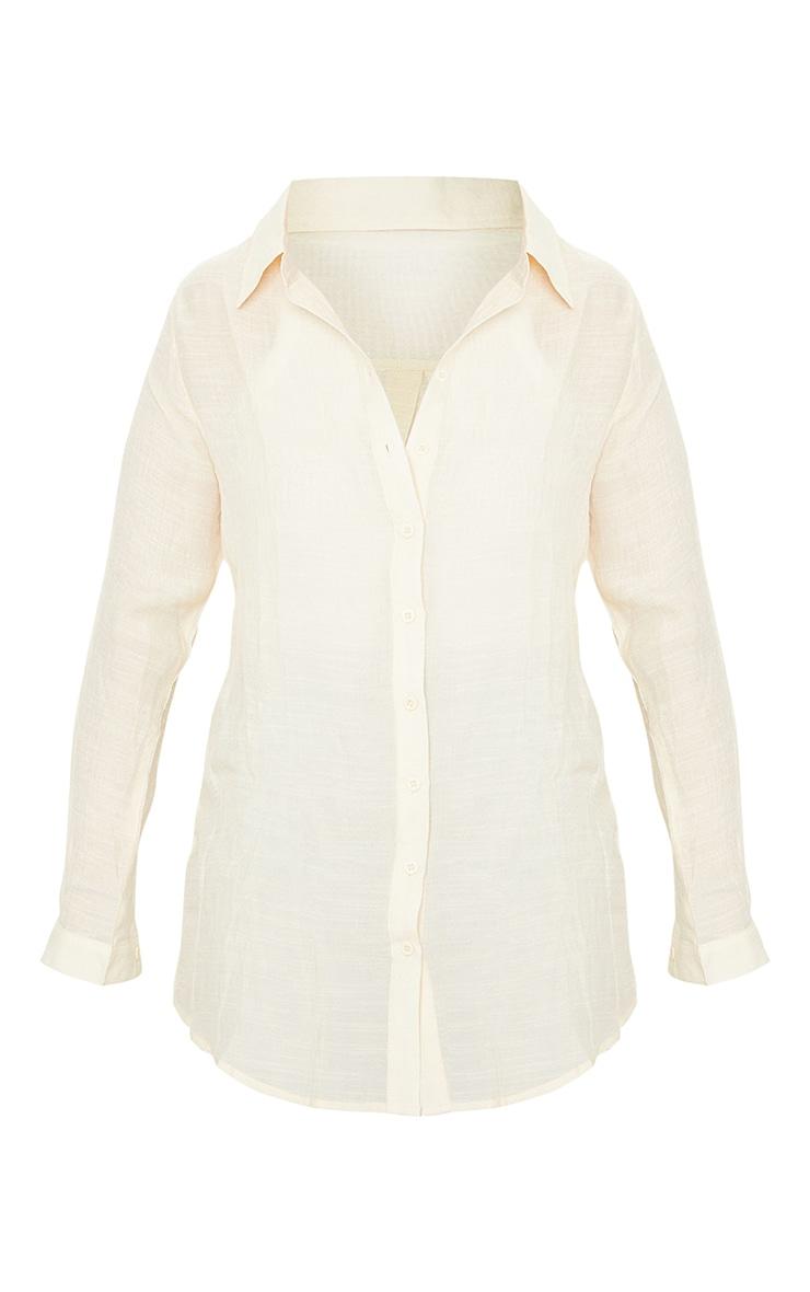 Sand Tie Front Beach Shirt 5