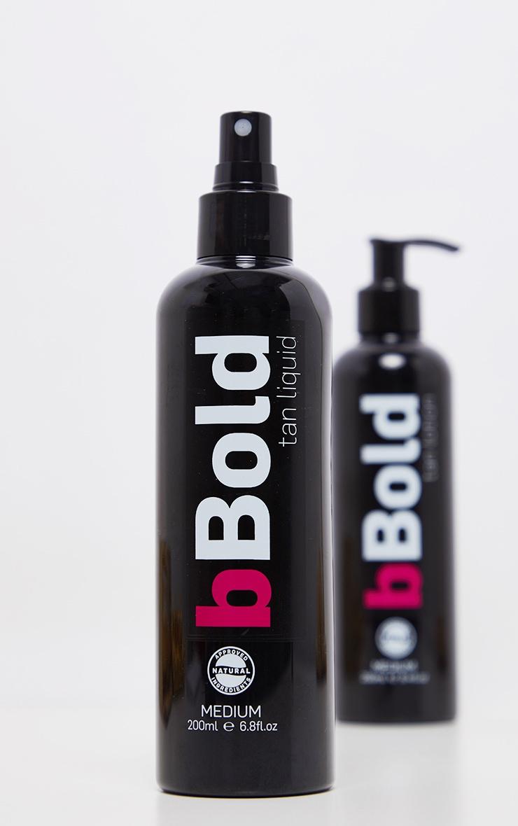 bBold - Autobronzant liquide medium - 200 ml 3