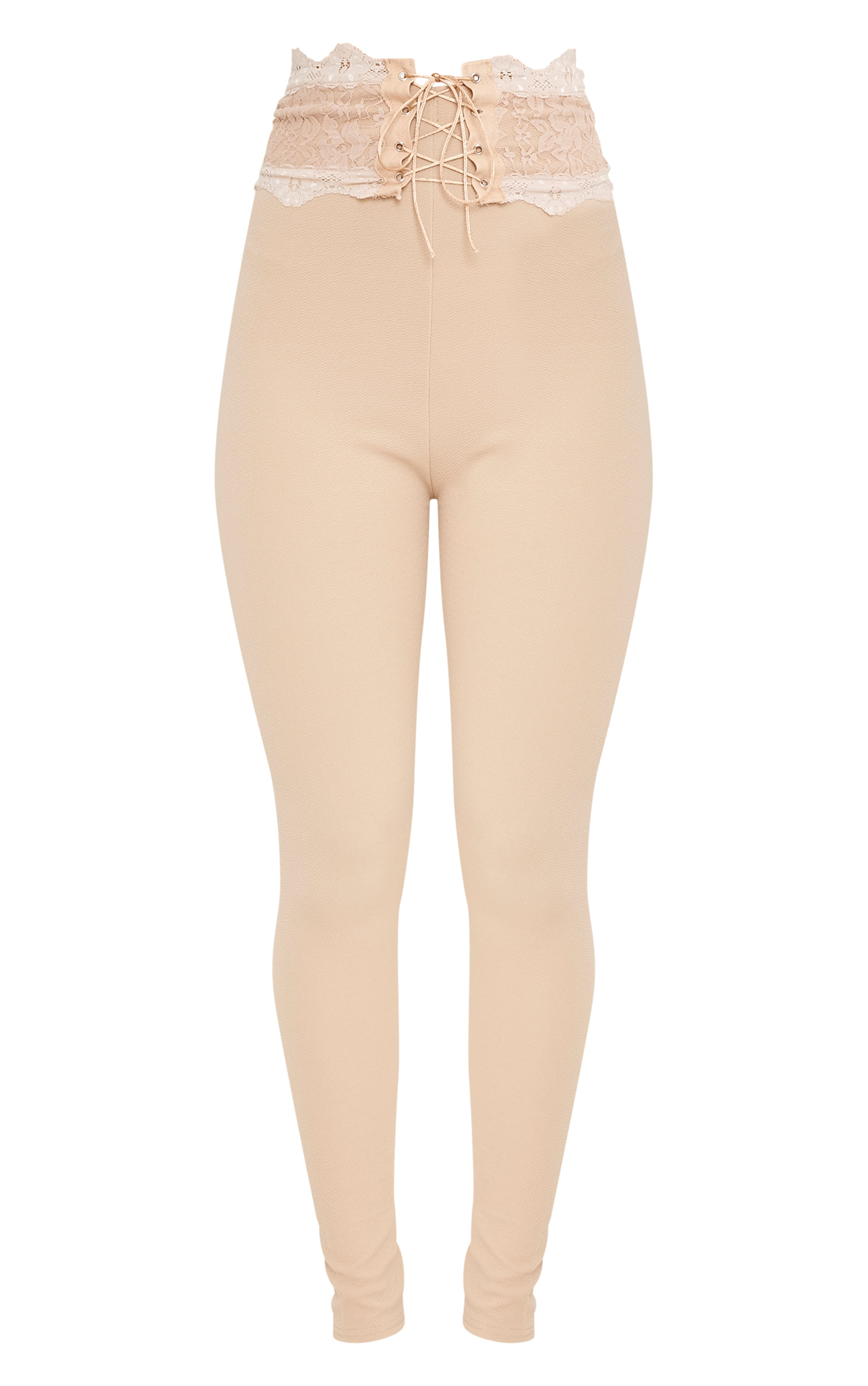 Azalea Stone Lace Corset Waist Trousers 3