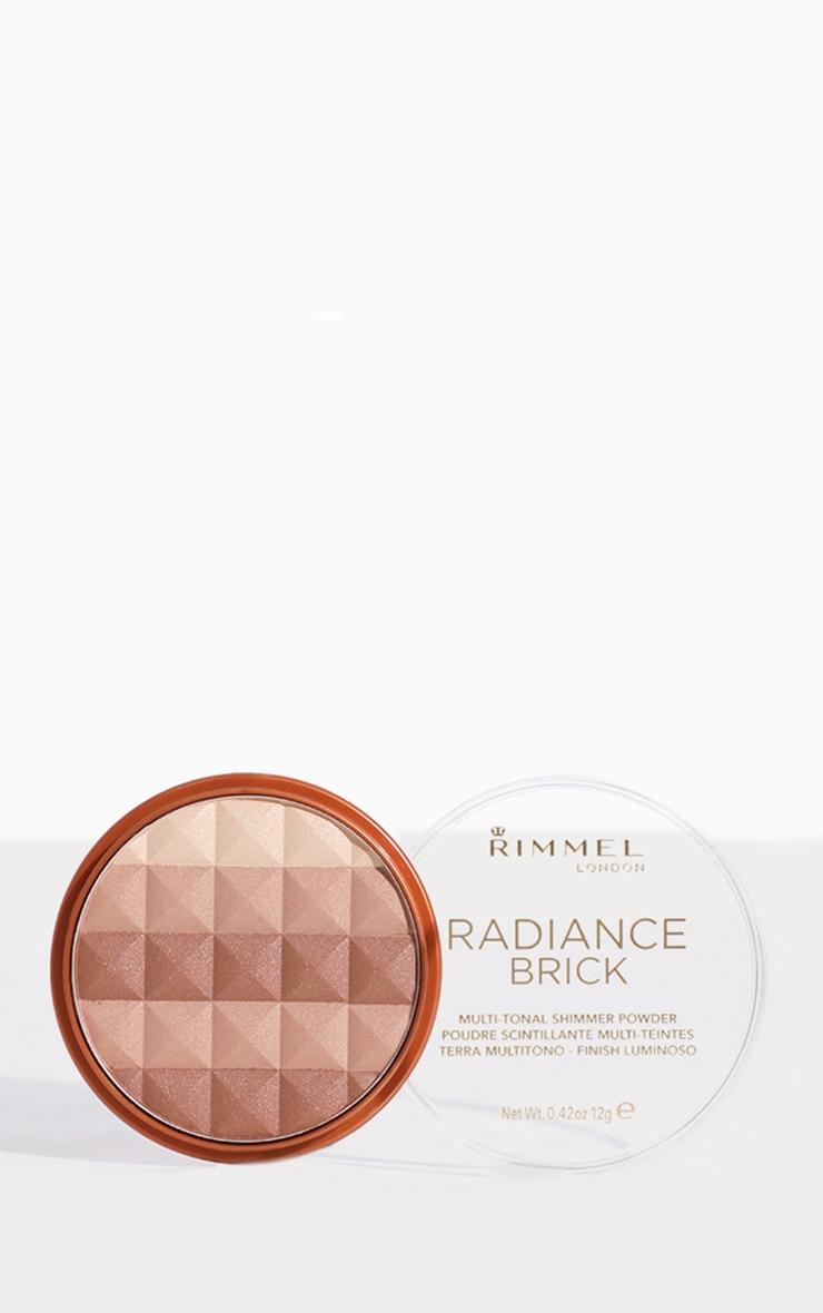 Rimmel Radiance Medium Shimmer Brick Bronzer 1
