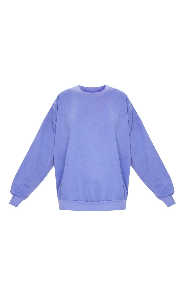 Lilac Ultimate Oversized Sweatshirt 5