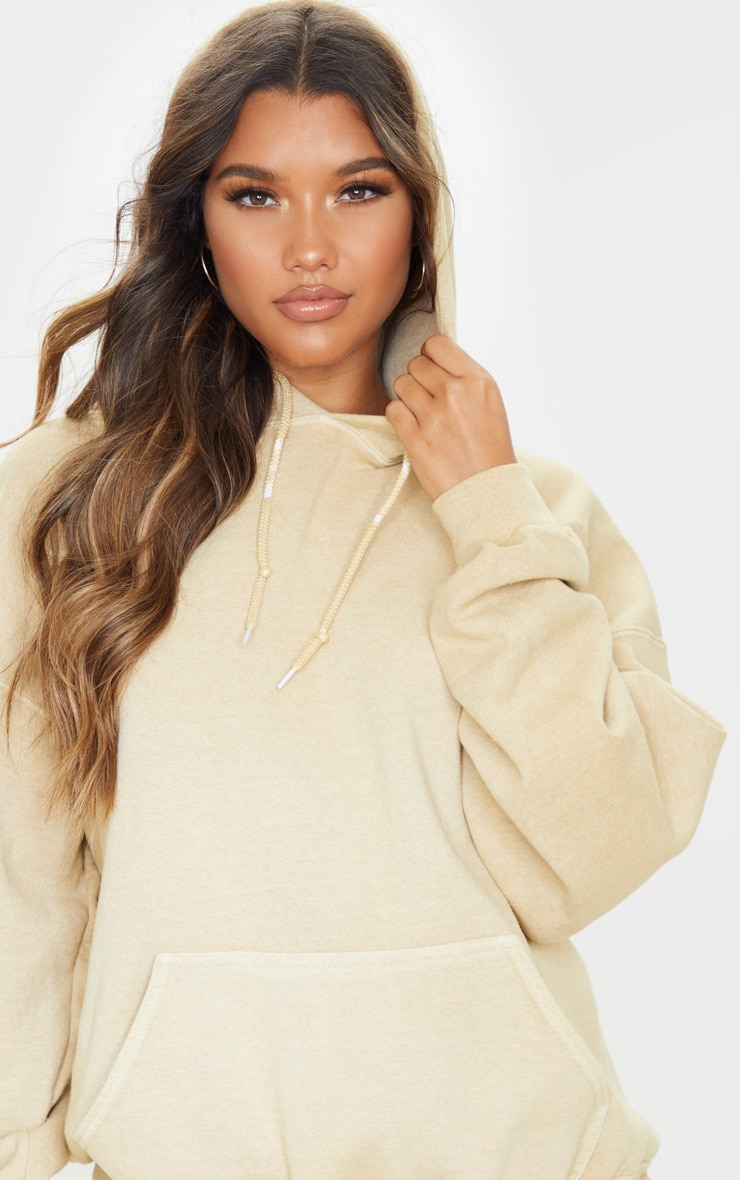 Fawn Washed Ultimate Oversized Hoodie 5