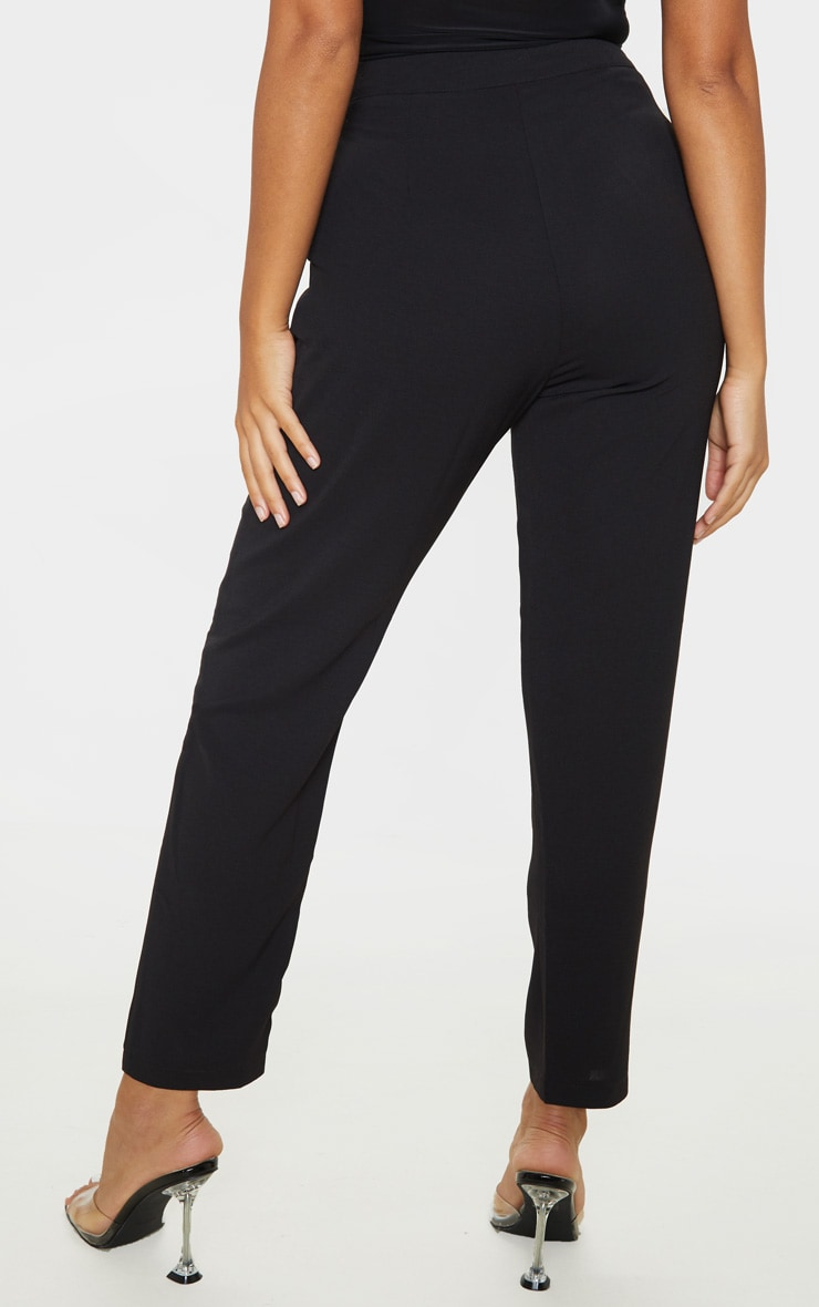 Petite Black Tailored Pants  4