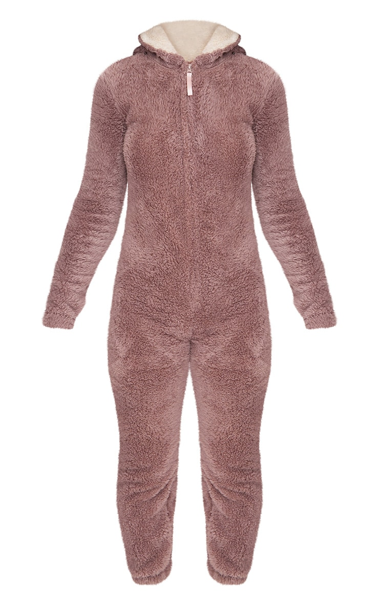 Brown Reindeer Onesie 4
