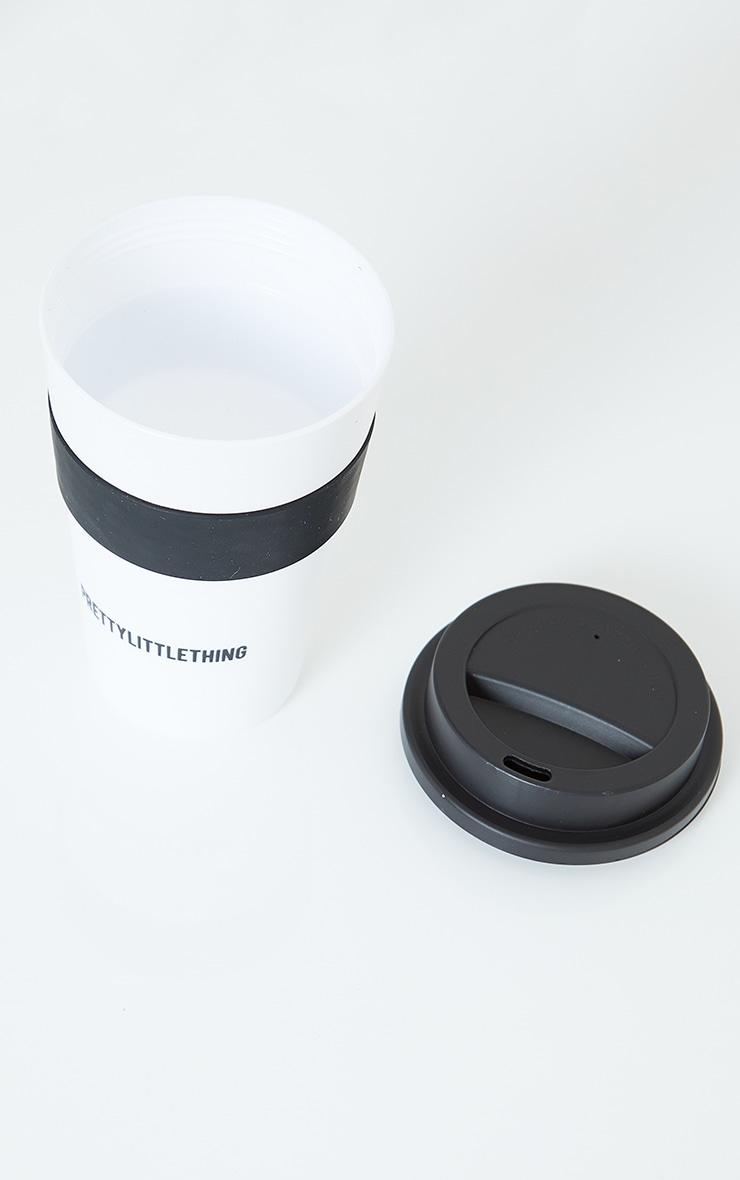 PRETTYLITTLETHING White Coffee Mug 3