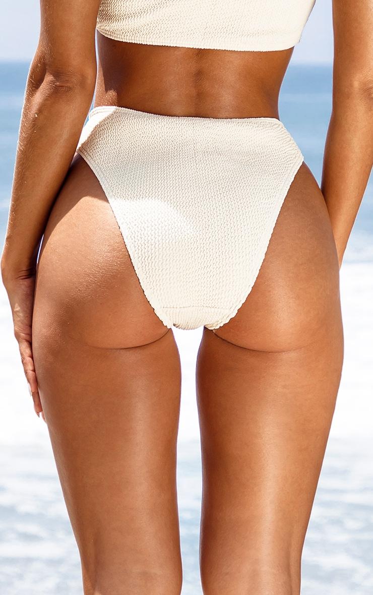Sand Ring Detail Crinkle Bikini Bottom 4