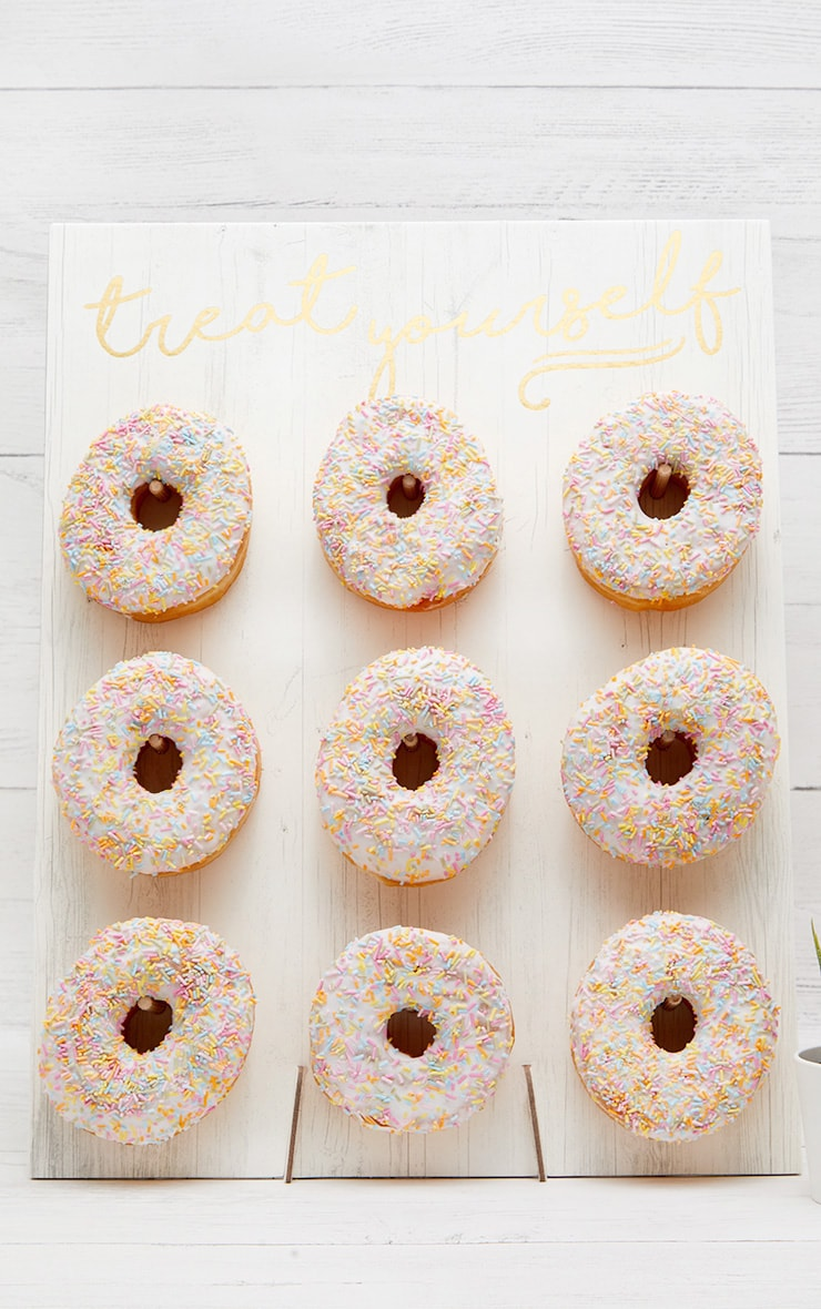 Ginger Ray White Donut Wall 1