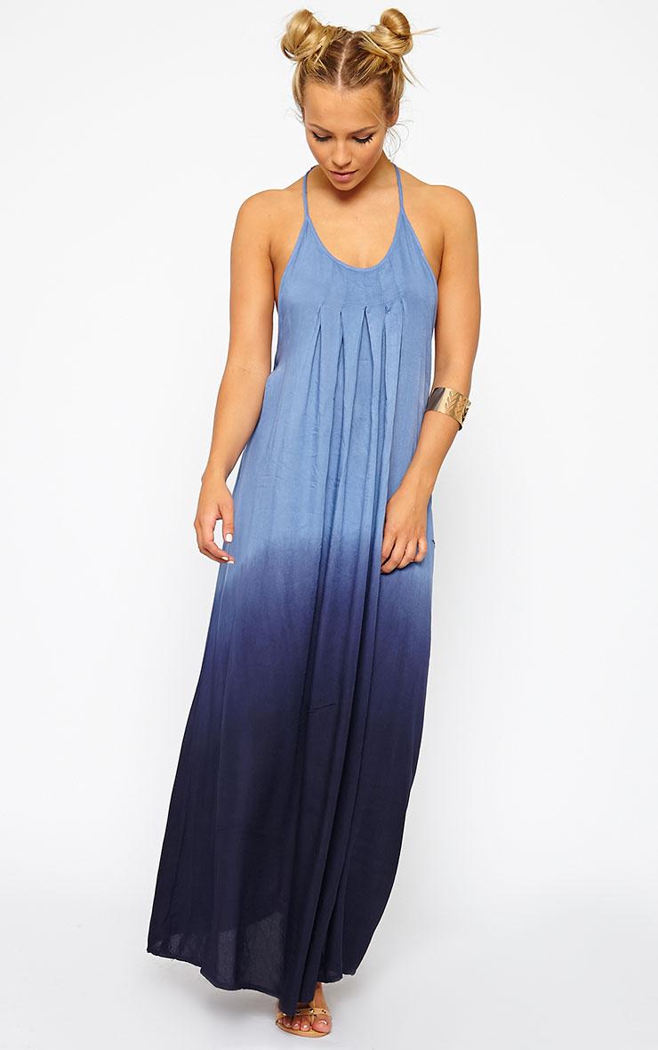 Izya Blue Ombre Maxi Dress 3