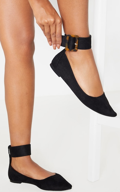 Black Point Toe Ankle Cuff Ballet