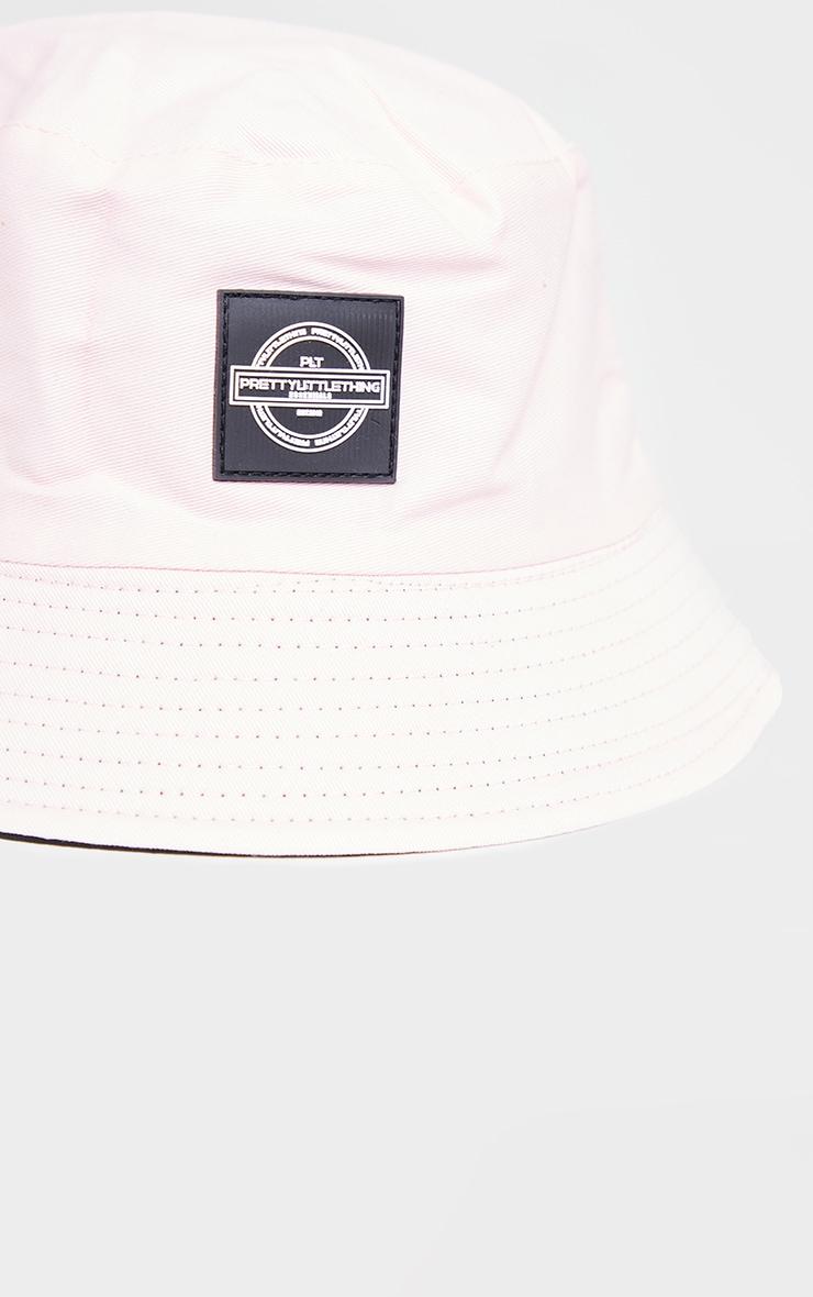 PRETTYLITTLETHING Pink Branded Bucket Hat 3