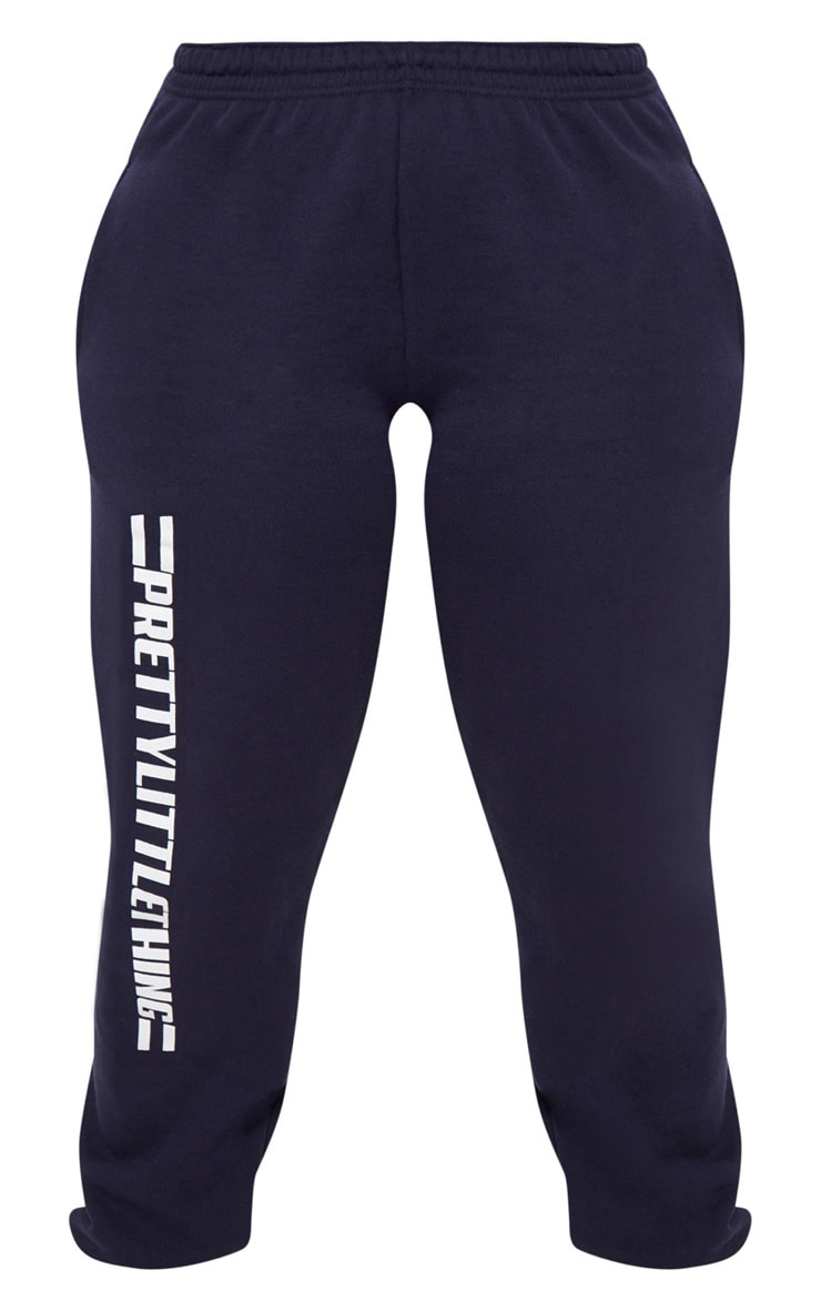 PRETTYLITTLETHING Plus Navy Casual joggers 3
