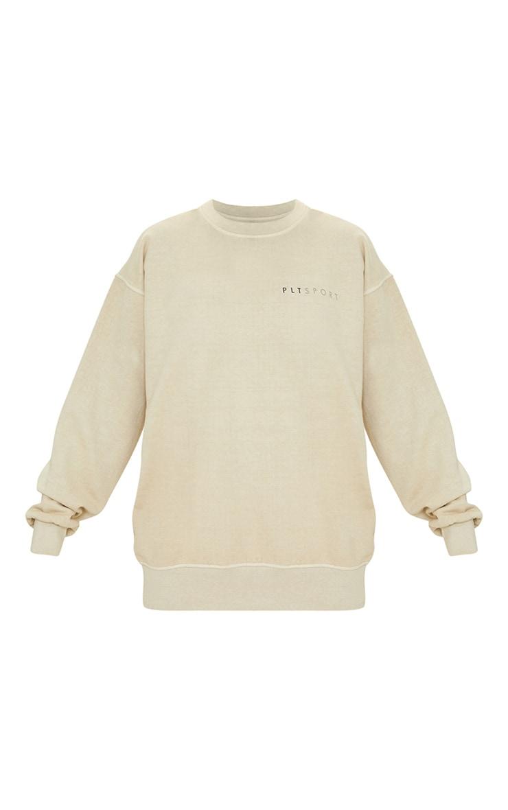 Sand Washed Oversized Sweatshirt 5