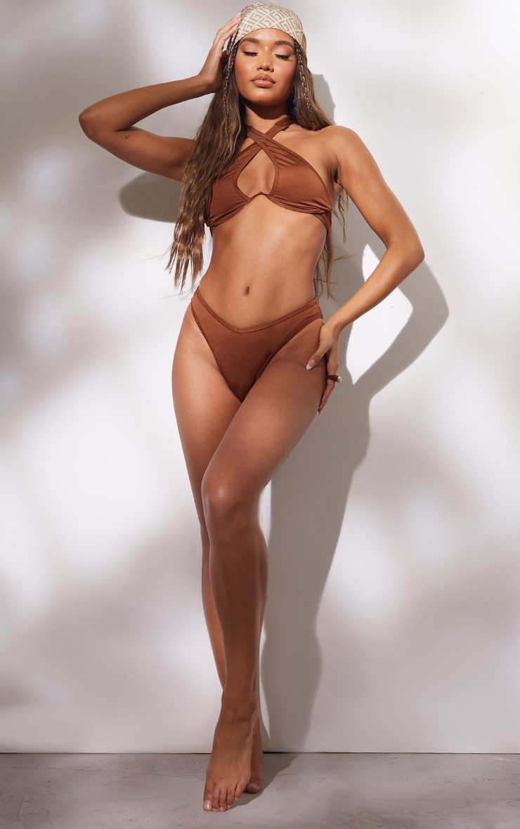 Brown Bikini Bottoms 3