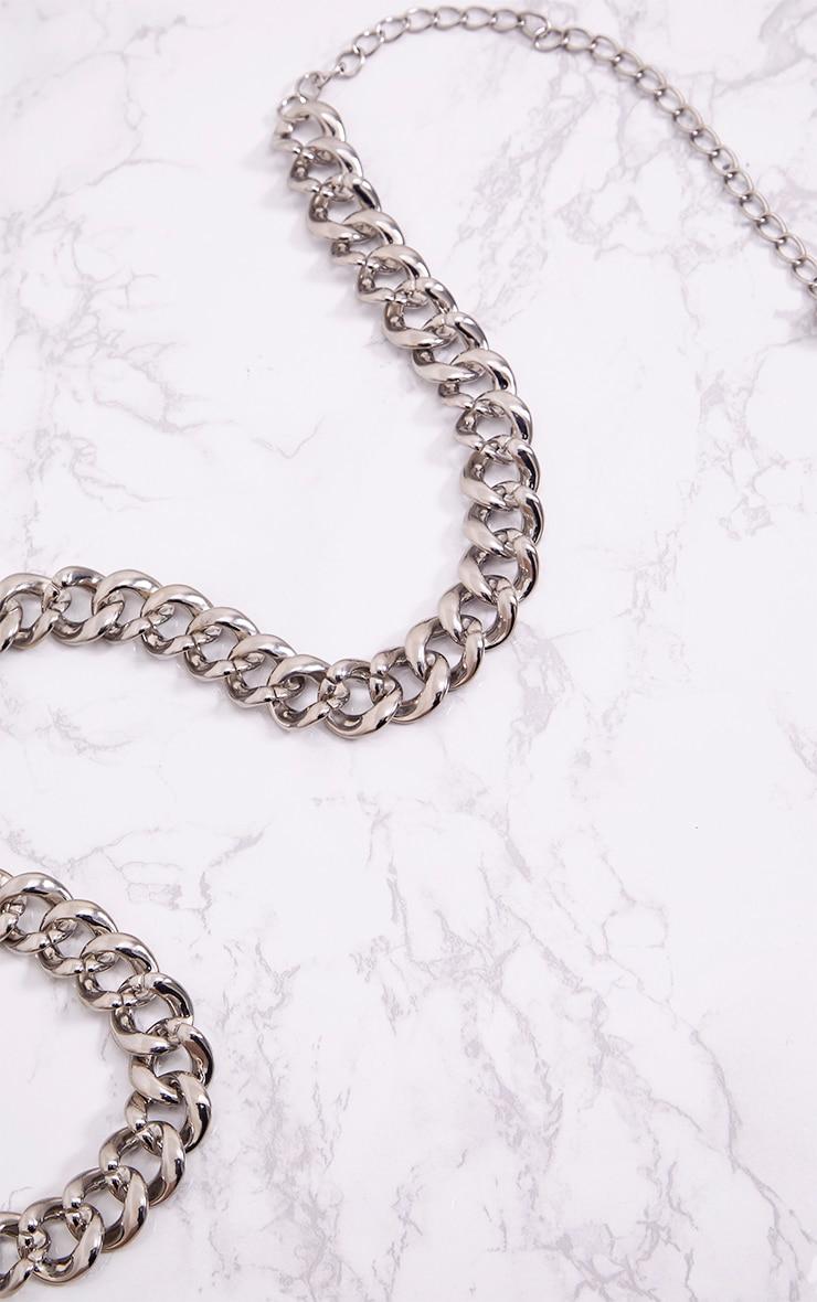 Silver Chain Belt 3