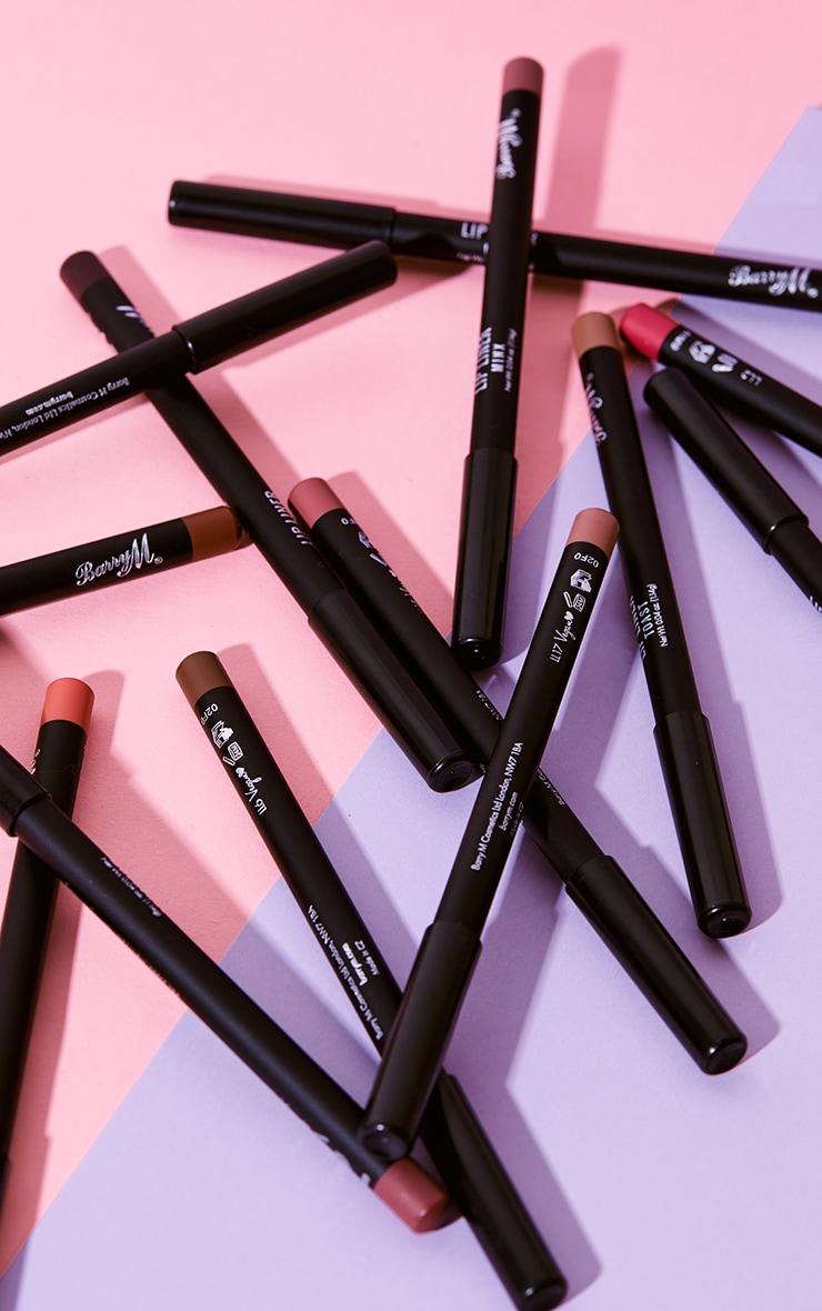 Barry M Cosmetics Lip Liner Russet 4