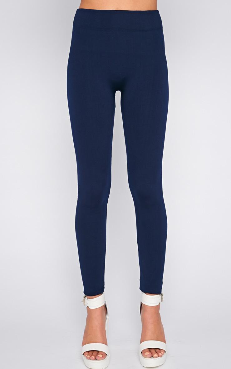 Becca Navy Blue Leggings  3
